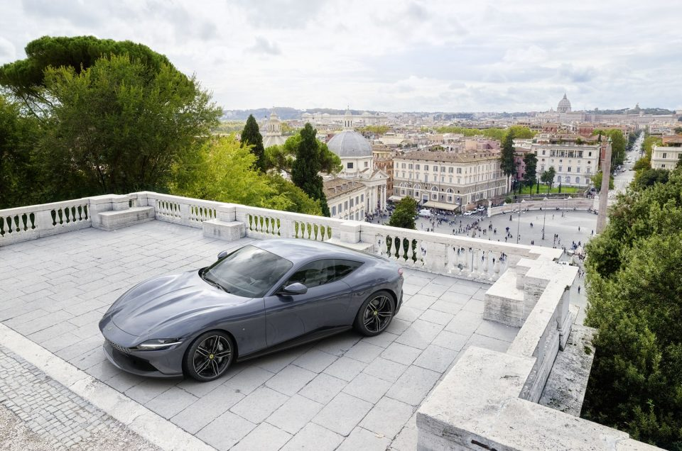 Ferrari Roma makes its' first official virtual debut In South Africa