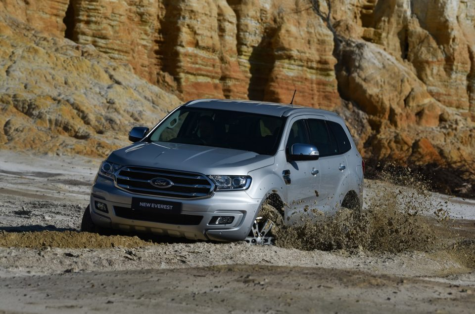 Ford Everest Range Expanded, LED Headlamps Now Standard on XLT and Limited