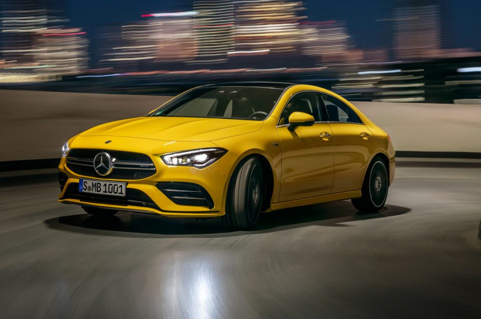 New entry-level Mercedes-AMG range opens a world of driving performance