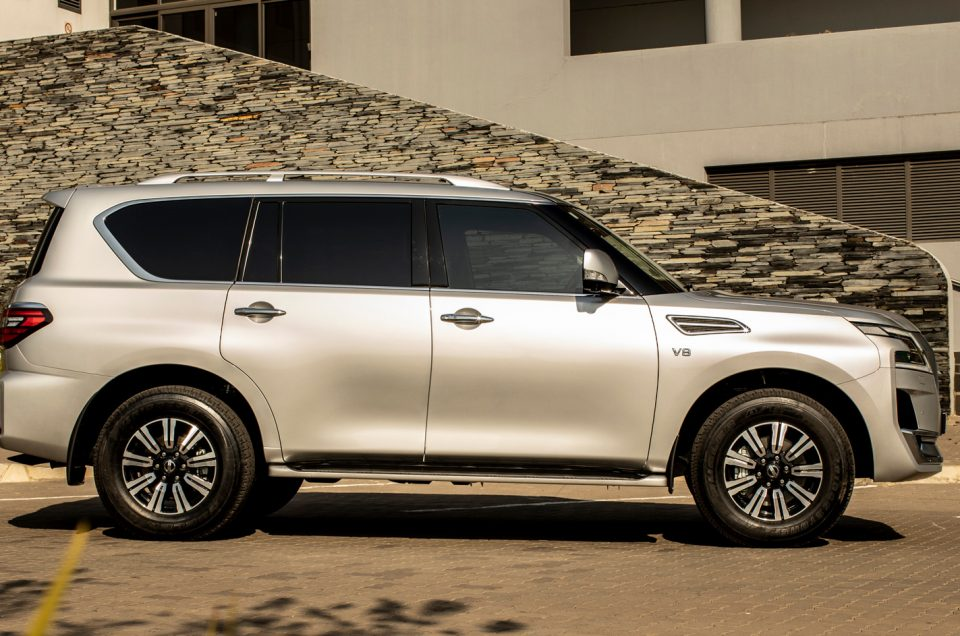 Arrive in Style with the New Nissan Patrol