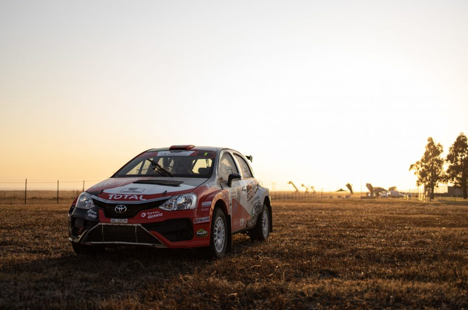FIRST BLOOD FOR TOYOTA GAZOO RACING SA'S BOTTERILL/VACY-LYLE AS THE SA NRC RESUMED IN SECUNDA
