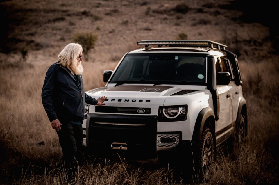 Kingsley Holgate and the New Defender hit the road again