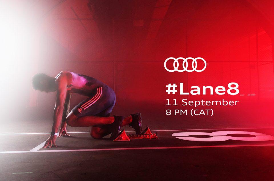 Audi and Wayde van Niekerk release an inspiring #Lane8 campaign