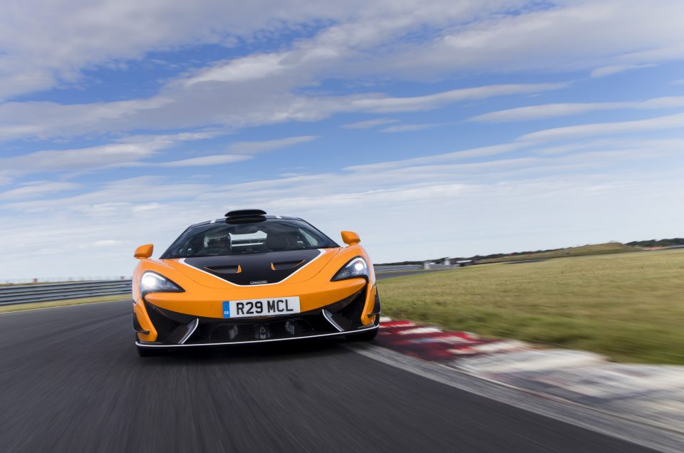 McLAREN 620R INTENSIFIED WITH R PACK AVAILABLE FOR EUROPE, MIDDLE EAST AND AFRICA