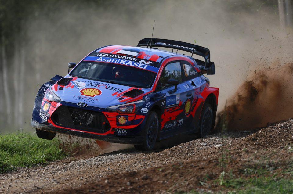 Tänak wins for Hyundai Motorsport in his backyard