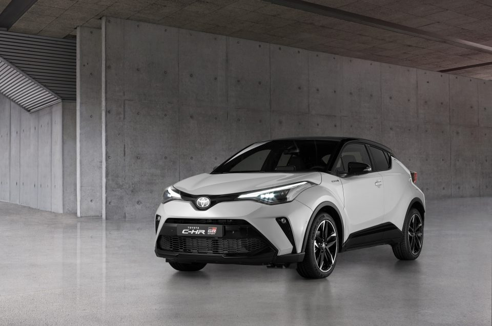 Toyota C-HR amplified with new GR SPORT model